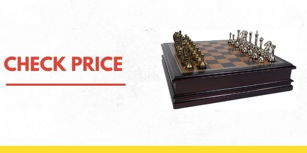 Classic 985 Game Collection Metal Chess Set