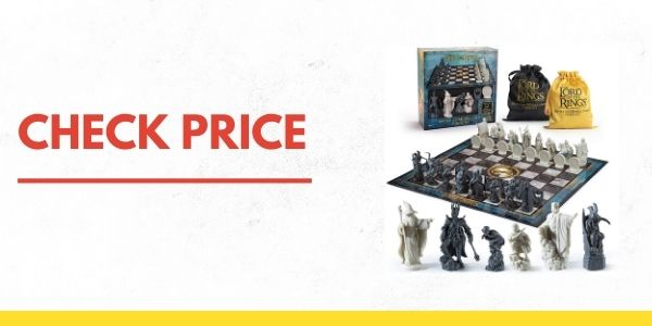 Noble Collection NN2174 Lord of The Rings Battle for Middle Earth Chess Set