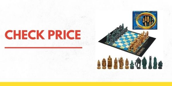 Parker Brothers 40868 Rings Chess Set- The Return of the King